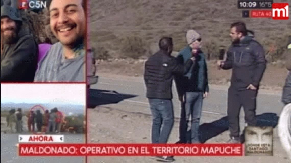 Sergio Maldonado: Temo que tiren a mi hermano en el territorio mapuche