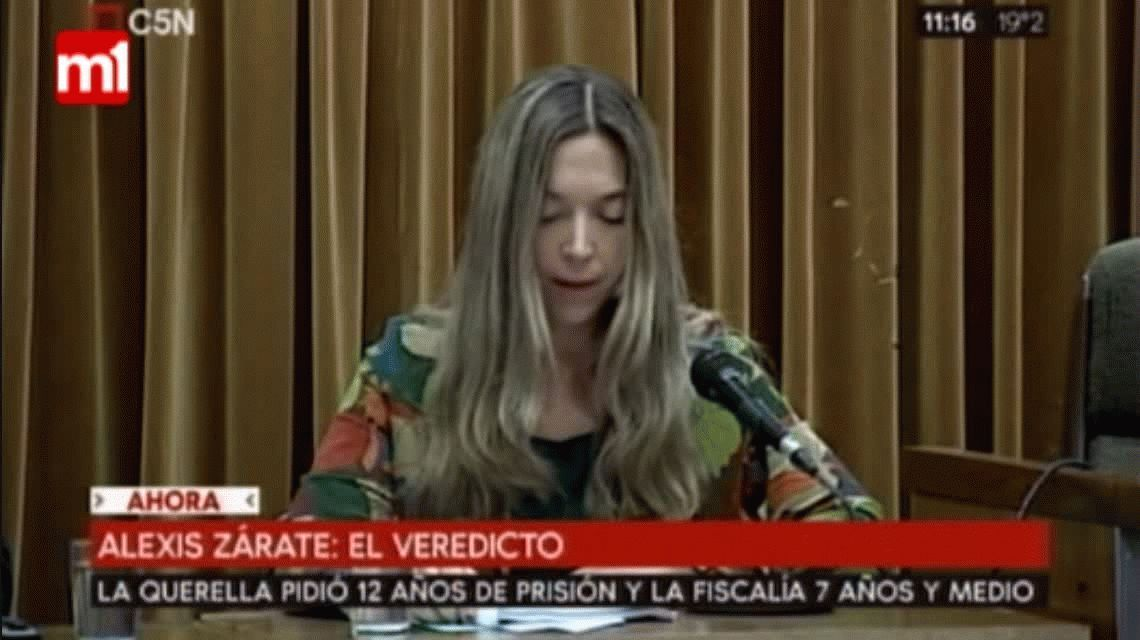 Condenaron a Alexis Zárate a seis años y medio de prisión por abuso sexual