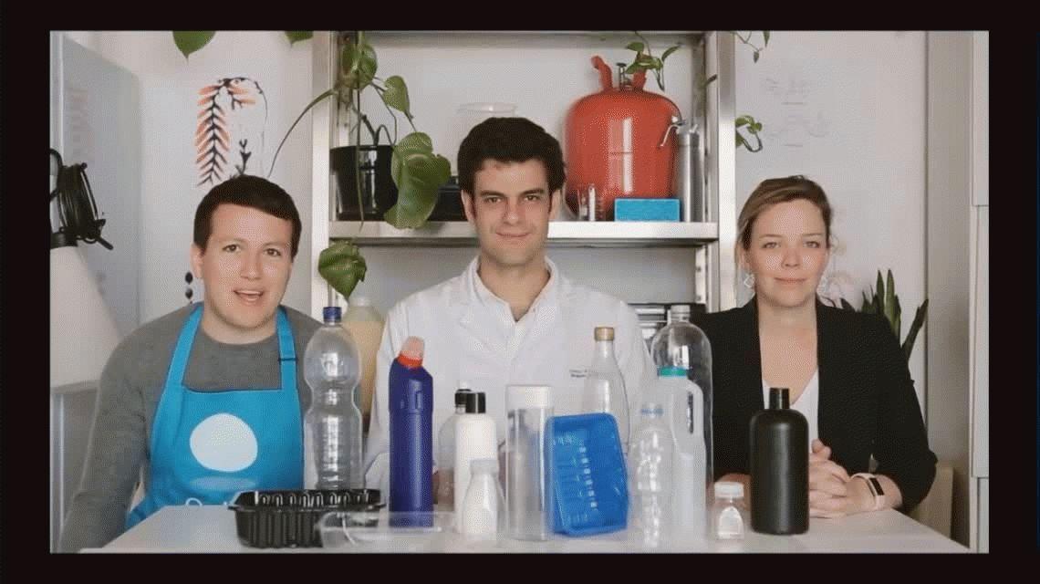 Conocé las botellas de agua del futuro: globos que se podrán comer