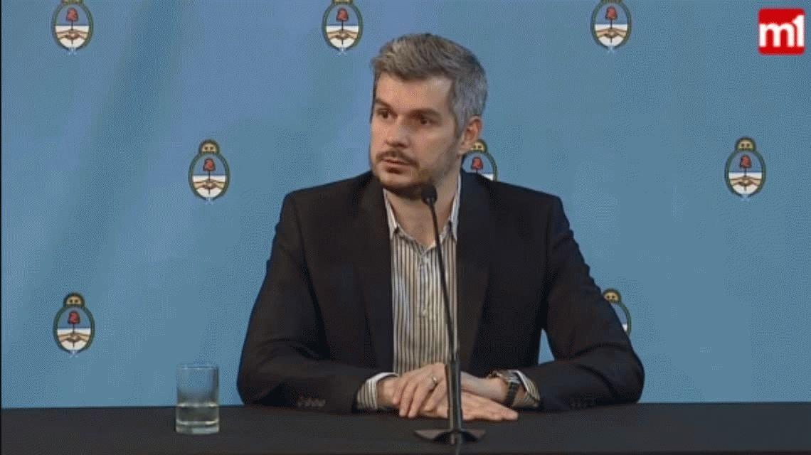 Marcos Peña: No vamos a entrar en polémica con los familiares de Santiago Maldonado
