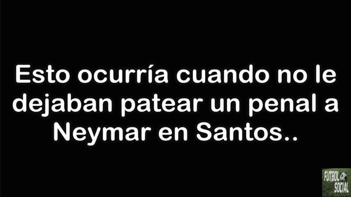 Atento, Cavani: el día que Neymar echó a un DT porque no lo dejó patear un penal