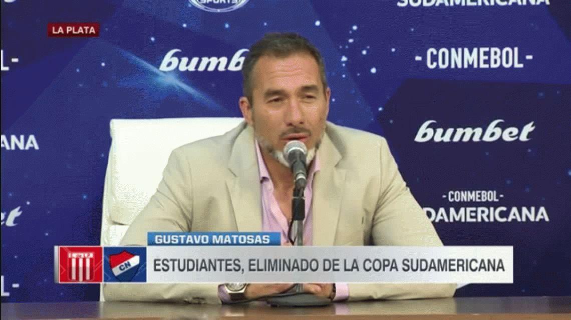 Estudiantes de La Plata: renunció el DT Gustavo Matosas