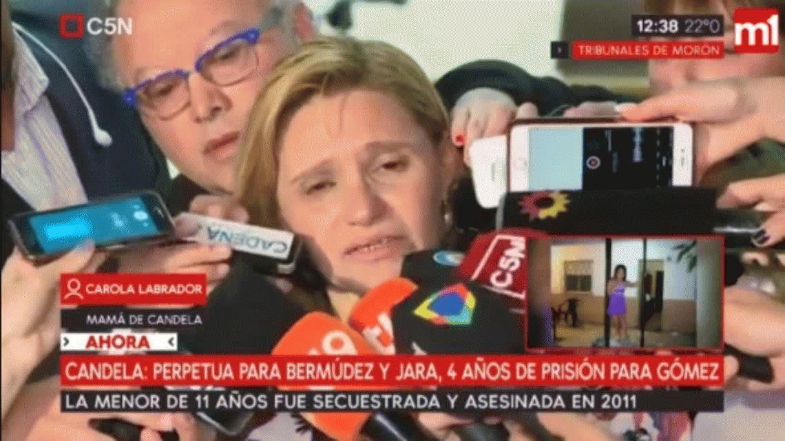Carola Labrador: Le cumplí a Candela que se iba a hacer Justicia