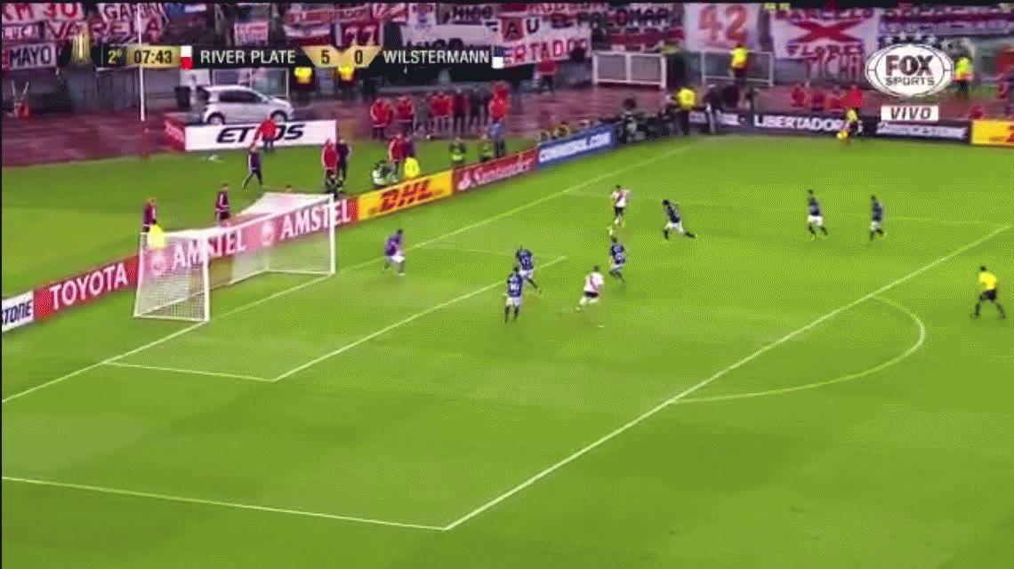 River 8 - Jorge Wilstermann 0 por la Copa Libertadores: goles y estadísticas