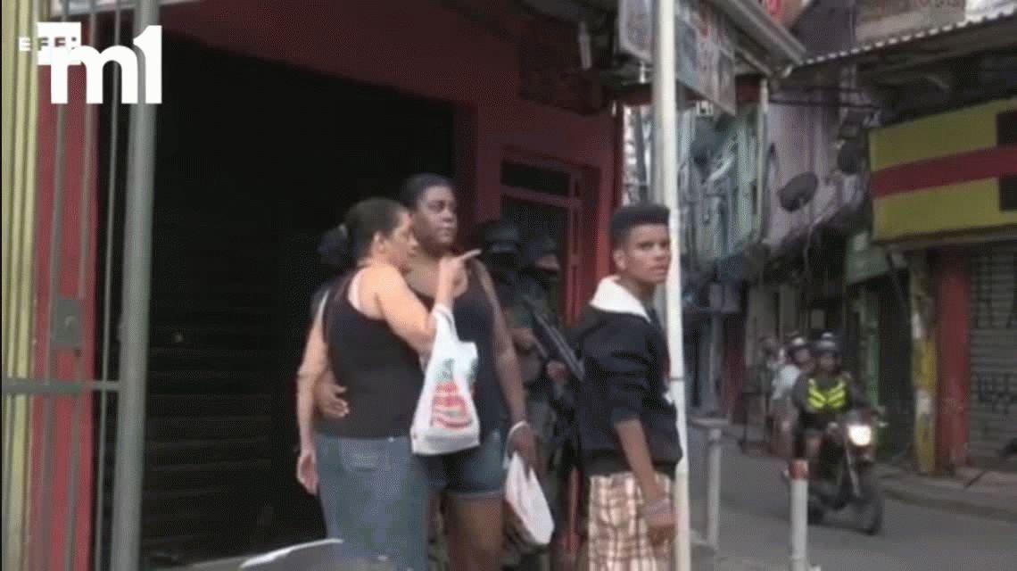 VIDEO: El operativo del Ejército en Rocinha, la favela más peligrosa de Brasil