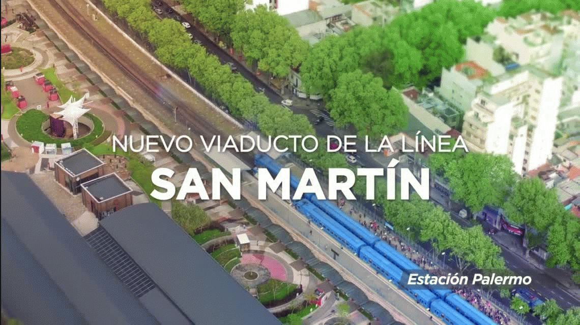 Cierran la estación La Paternal del tren San Martín y habrá un servicio de colectivos para los usuarios