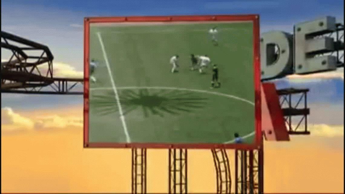 Ésta es la versión original de la canción sobre el gol de Maradona que popularizó Lucas Castro