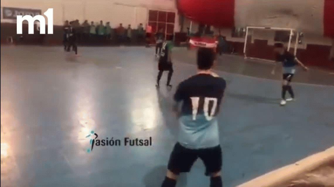 Impresionante: mirá este golazo con un lujo pocas veces visto en el futsal argentino
