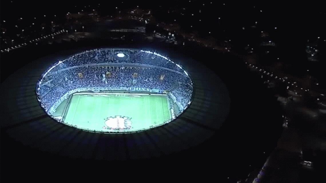 A lo Palermo: Thiago Neves le pegó con los dos pies y Cruzeiro fue campeón de la Copa de Brasil