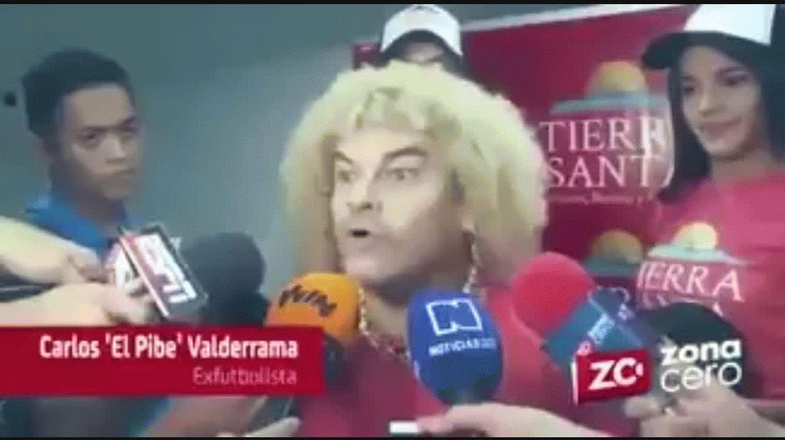 La furia del Pibe Valderrama para que Colombia no piense en Argentina