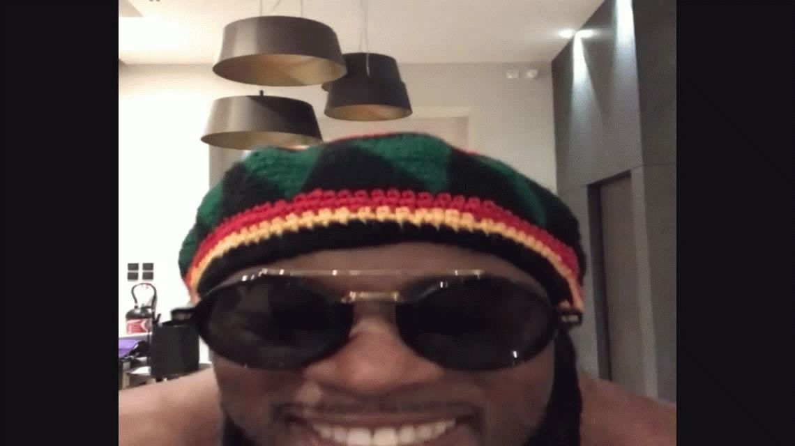 Patrice Evra emuló a Bob Marley en un video desopilante en Instagram