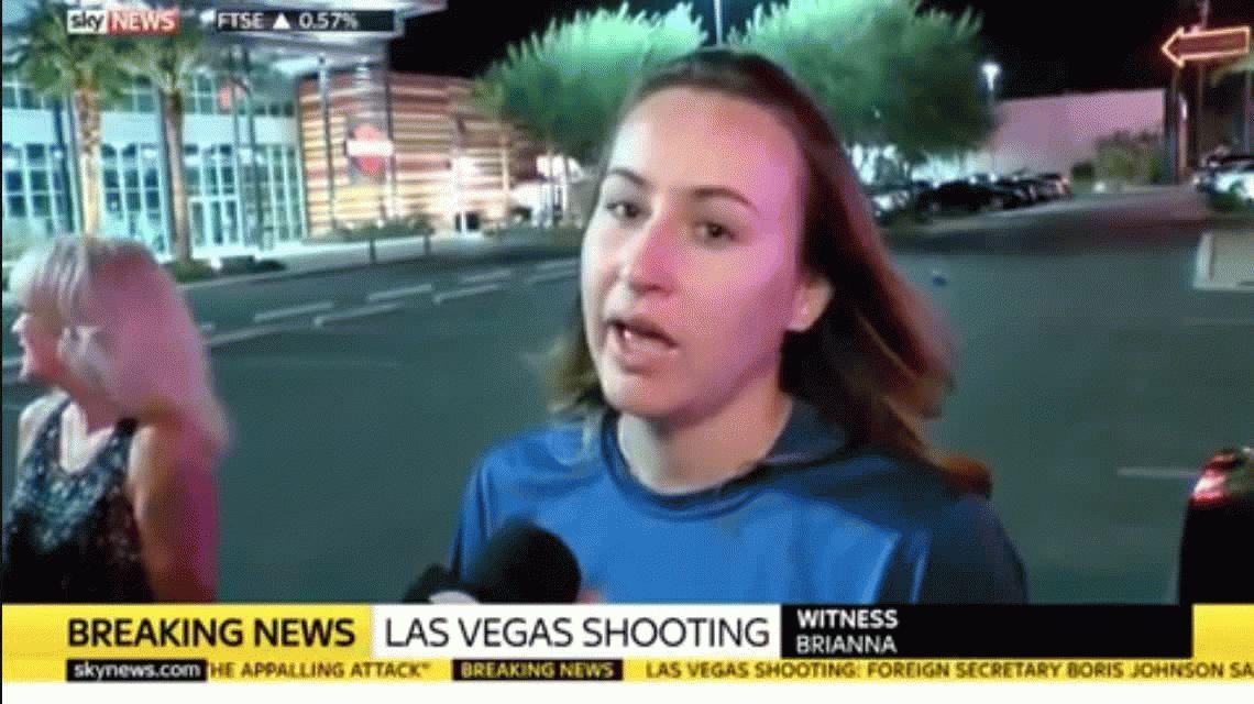 La macabra advertencia de una mujer minutos antes del tiroteo en Las Vegas