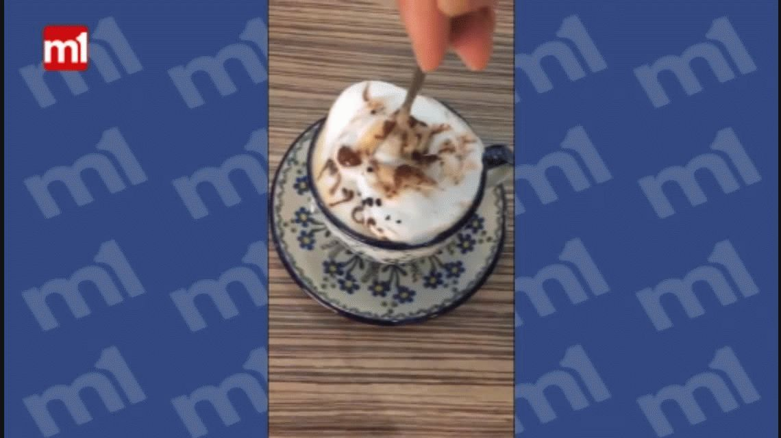 No apto para estómagos sensibles: ¿tomarías un café con una cucaracha?