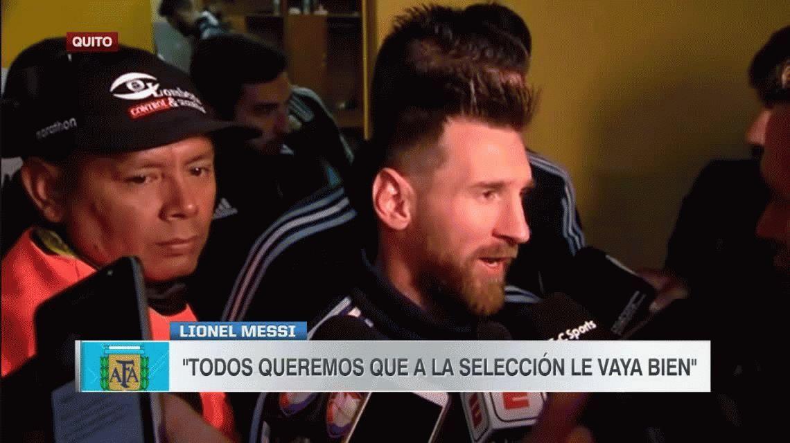 Messi: Merecíamos haber ganado las tres finales y merecemos ir al Mundial