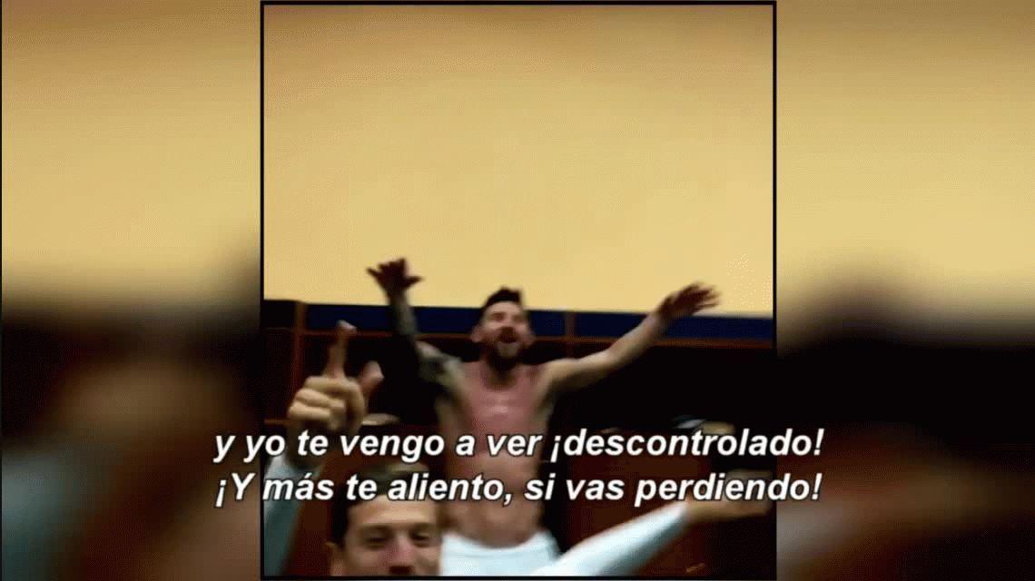 VIDEO: Lionel Messi descontrolado como nunca se lo vio