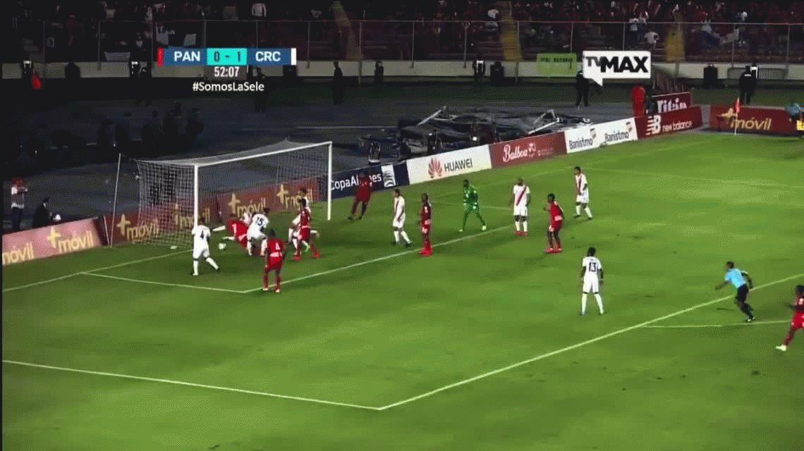 VIDEO Panamá clasificó a Rusia con un gol fantasma: decretaron feriado nacional