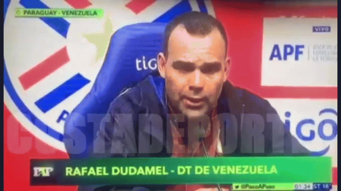 Tremenda denuncia de Rafael Dudamel, DT de Venezuela: le mandaron prostitutas al hotel