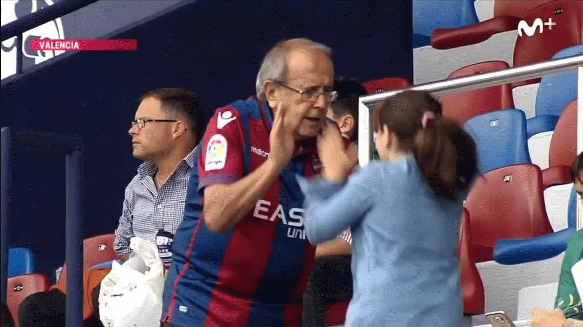 VIDEO: El abuelo del Levante es el viral que enamora a España