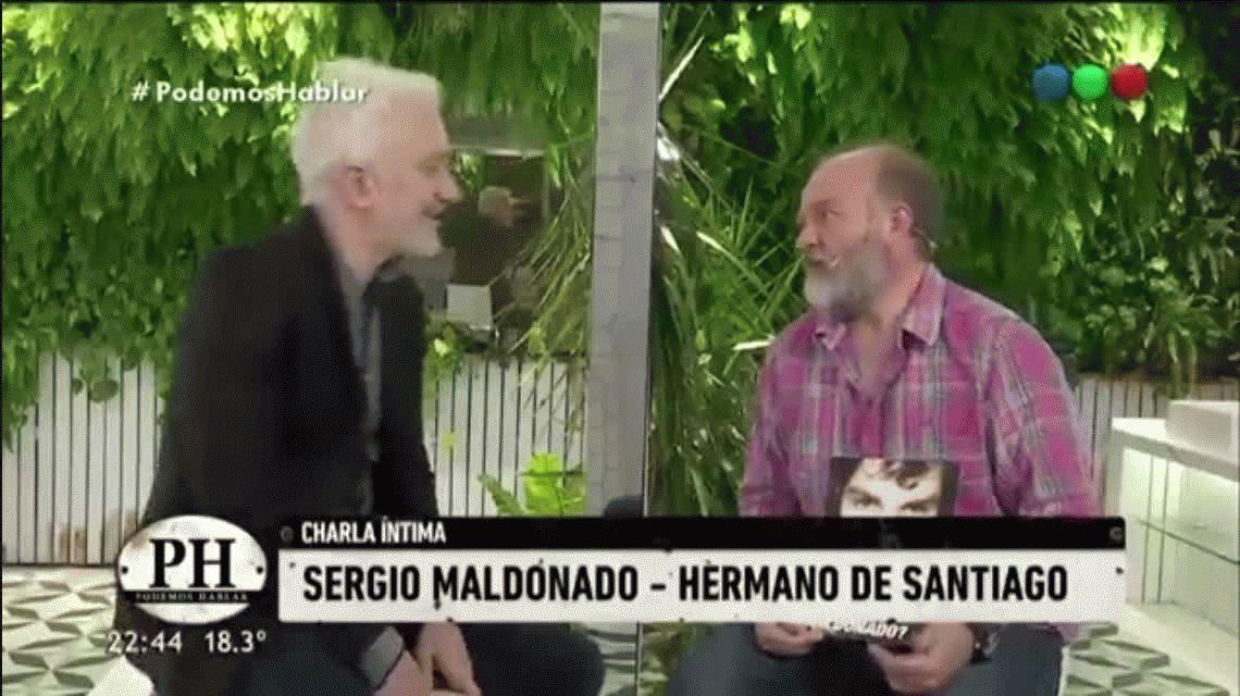 Sergio Maldonado quebró en llanto al hablar sobre su hermano desaparecido