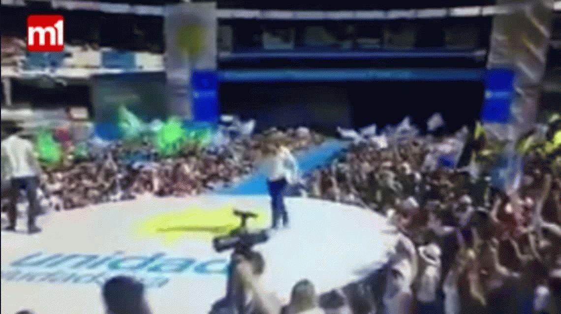 El vibrante pogo de los fanáticos de Cristina Kirchner al ritmo de Ji ji ji en Racing