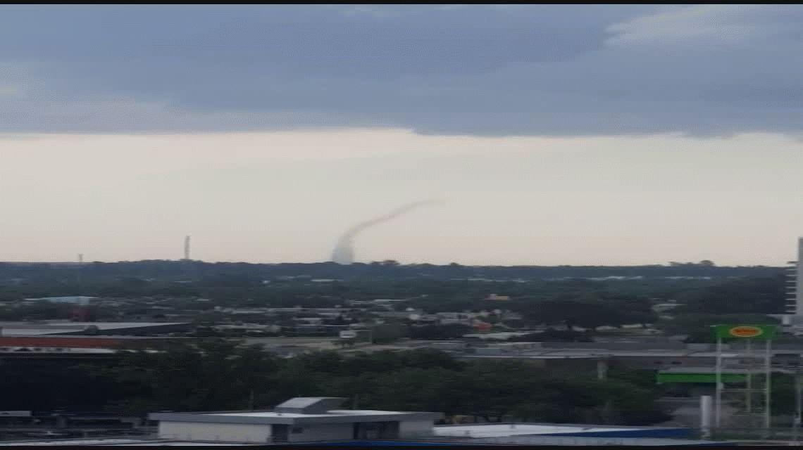 VIDEO: Conmoción en Córdoba por un tornado