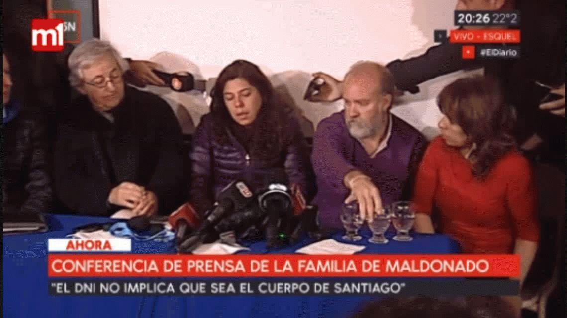 Santiago Maldonado: la familia pide que se deje de difundir las fotos viralizadas por WhatsApp