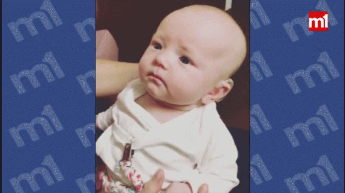 Una bebé escucha a su mamá por primera vez y emocionó a todo el mundo