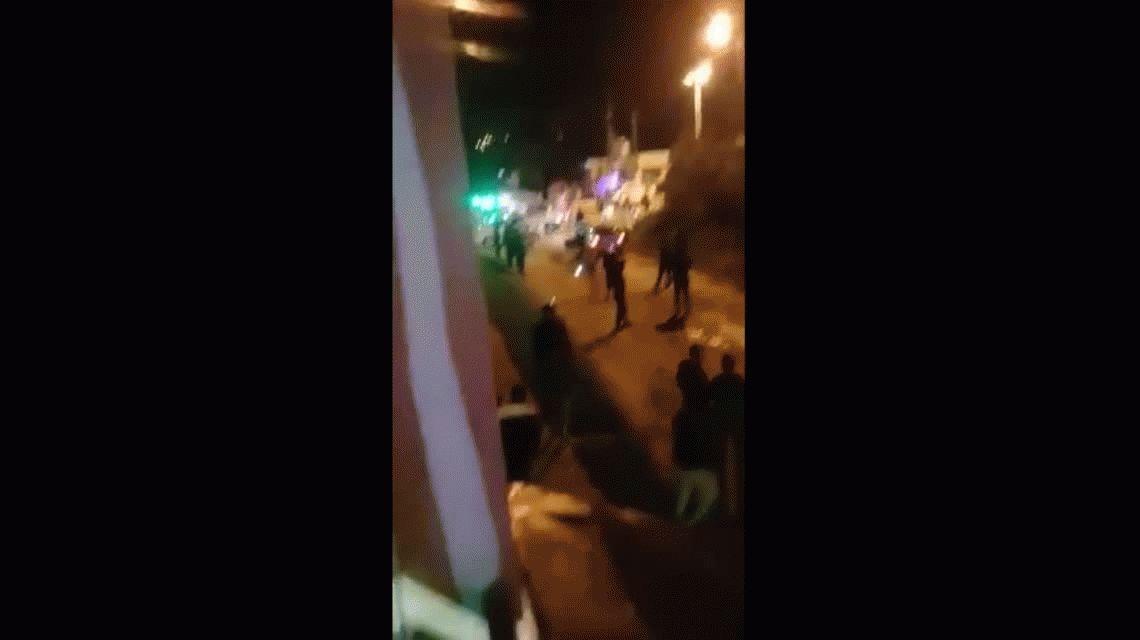 Supuesto narco abre fuego contra una protesta porque manda él: lo mataron