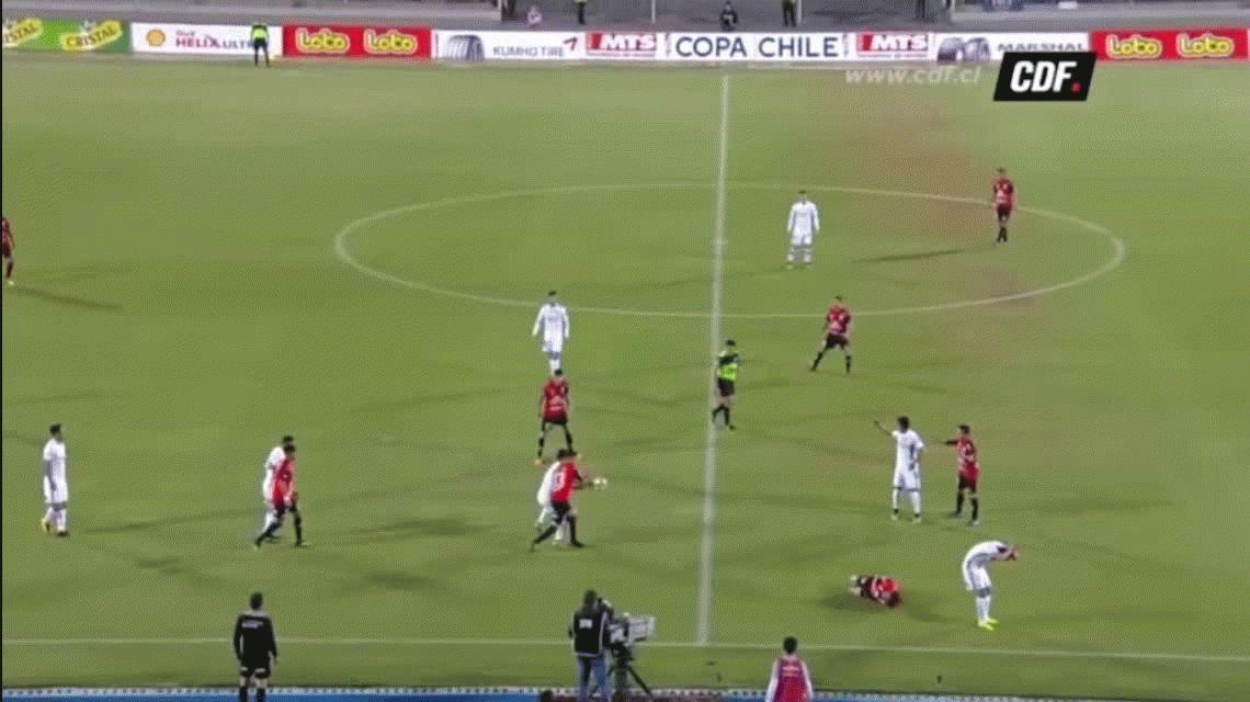 Convulsiones y vómitos: Paulo Magalhães conmocionó a todos en el fútbol chileno
