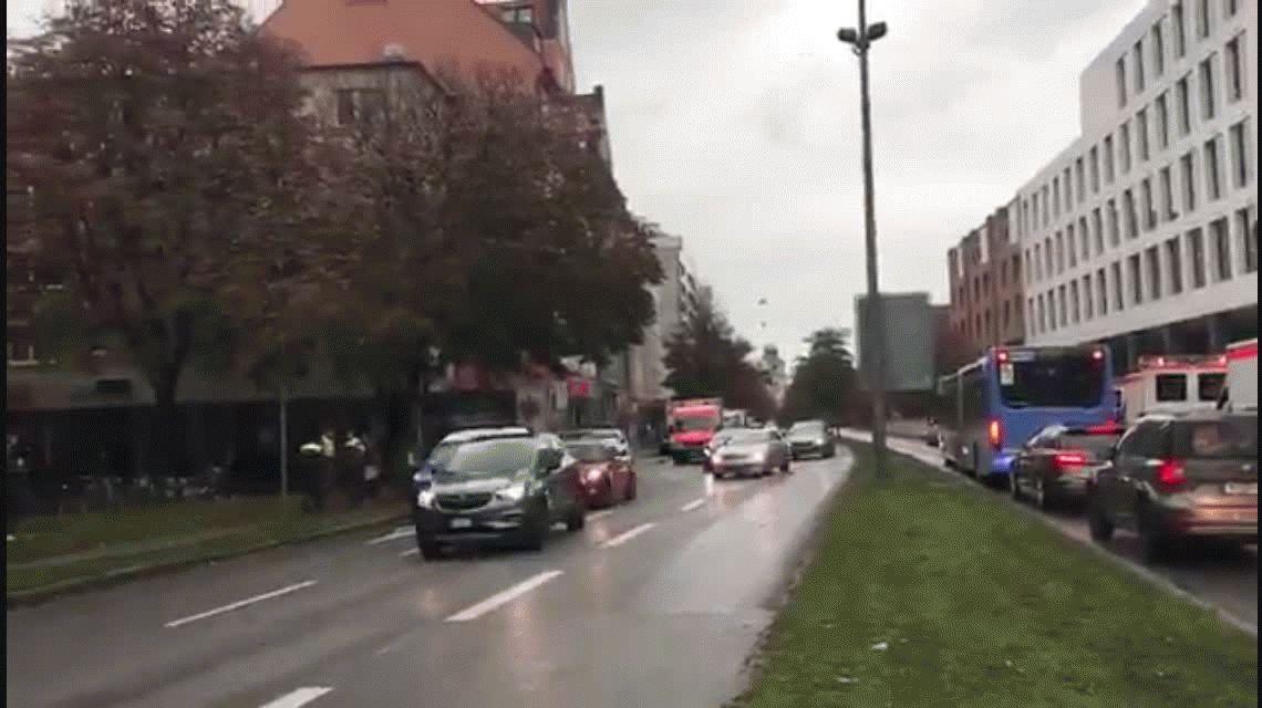 Un hombre hirió a cinco personas con un cuchillo en Múnich