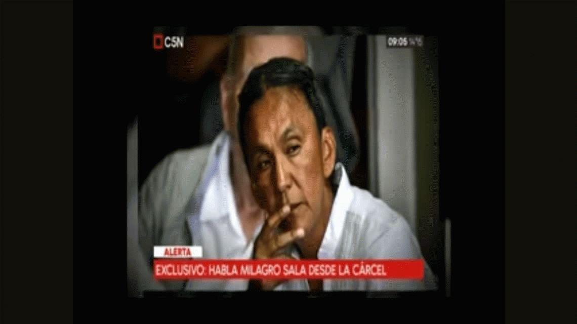 Milagro Sala sobre el hallazgo del cuerpo de Santiago Maldonado