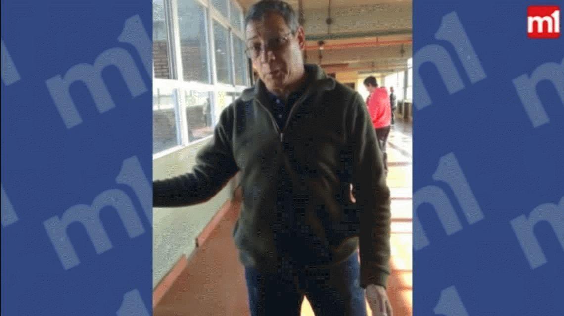 VIDEO: Fiscales se cruzaron por los carteles de Santiago Maldonado en una escuela