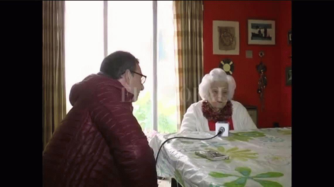 Tiene 103 años y reclamó que se la incluya en el padrón para poder votar