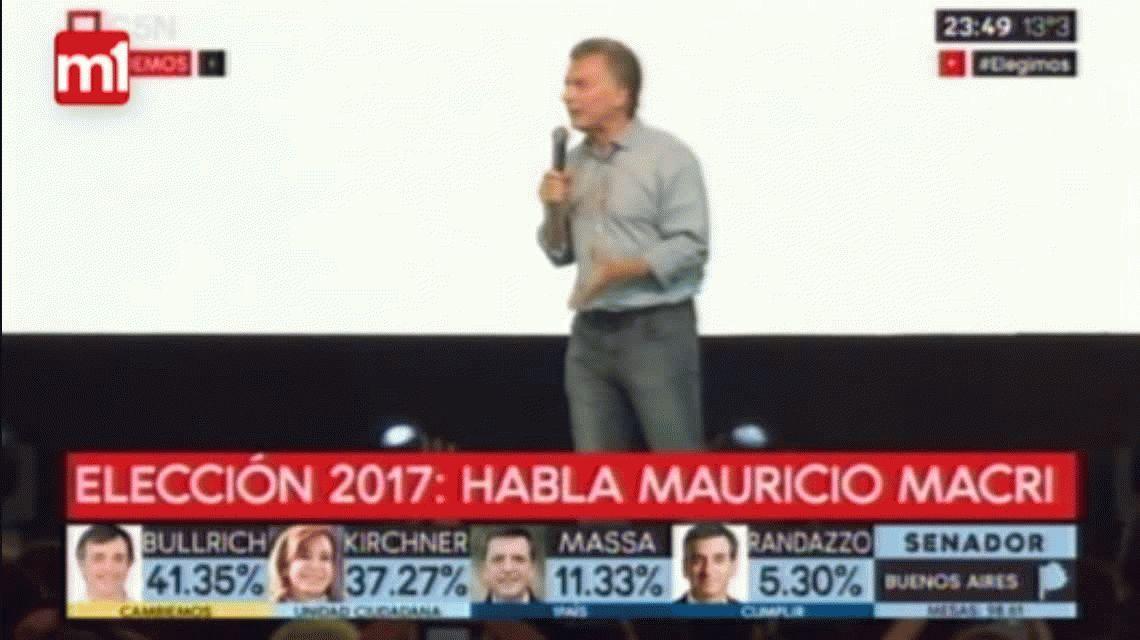 Para Macri fue un día inolvidable y pide ponerse la misma camiseta