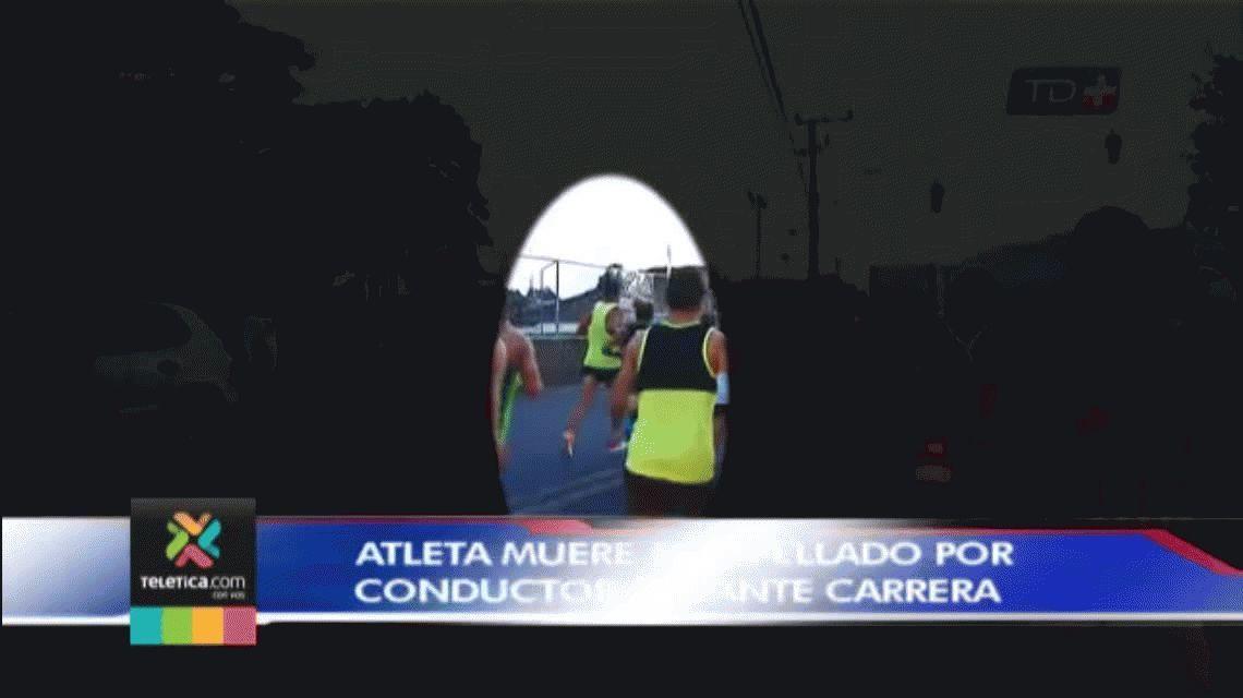 Murió un maratonista atropellado por un borracho