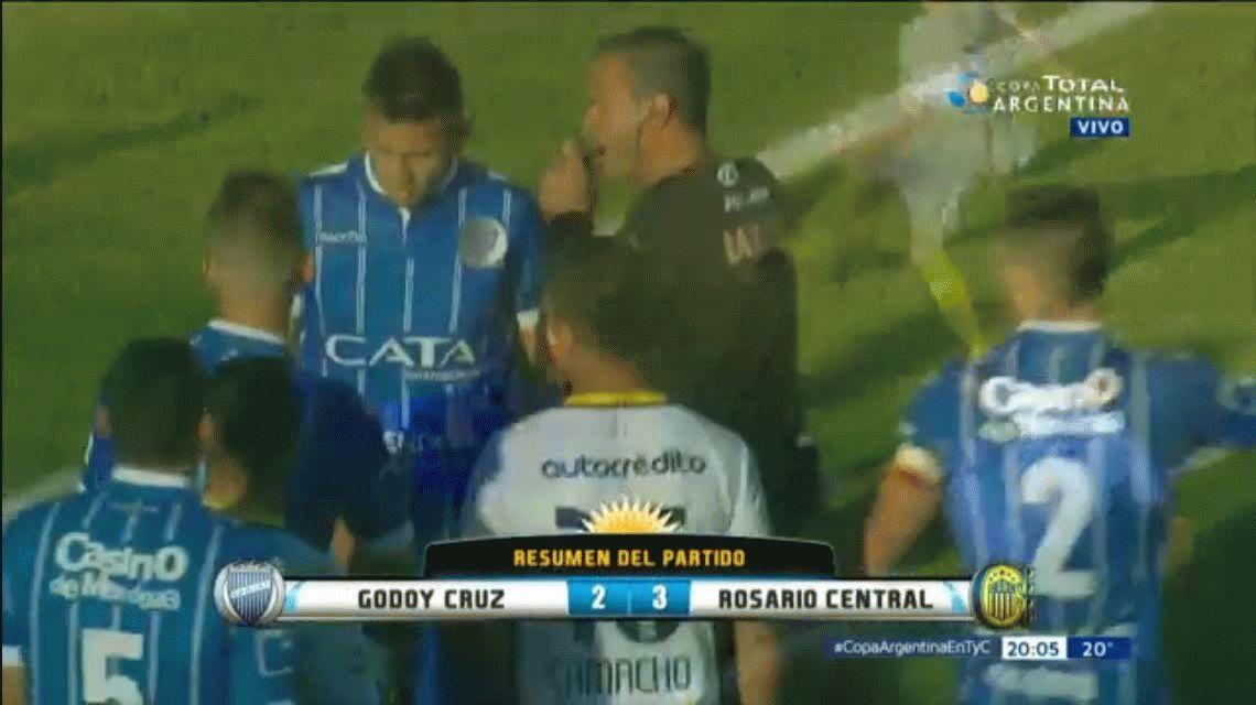 Rosario Central 3 - Godoy Cruz de Mendoza 2: goles y estadísticas