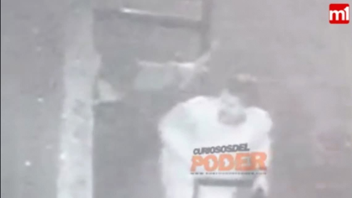 La última imagen con vida: así salían de un bar el rugbier asesinado y su novia Julieta
