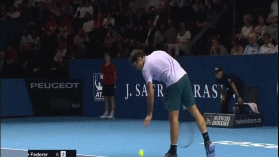 Así explotó de bronca Del Potro contra los fans de Federer: Cerrá el...