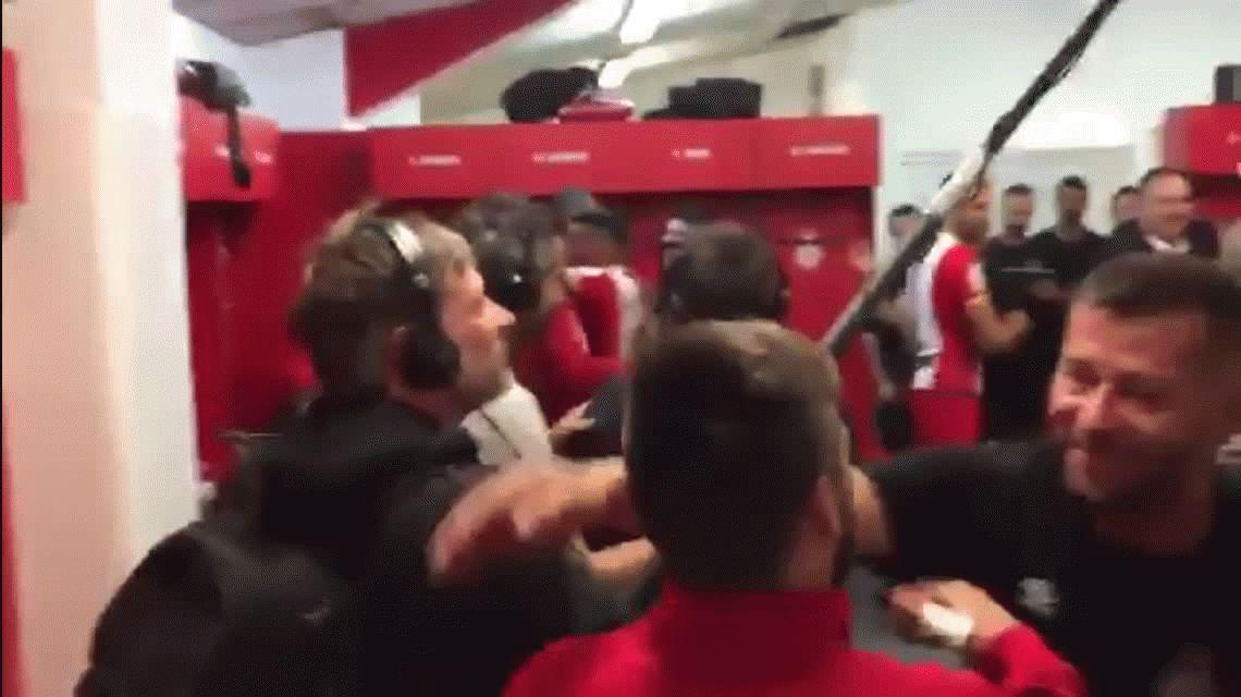 El insólito festejo de Girona en el vestuario tras derrotar a Real Madrid