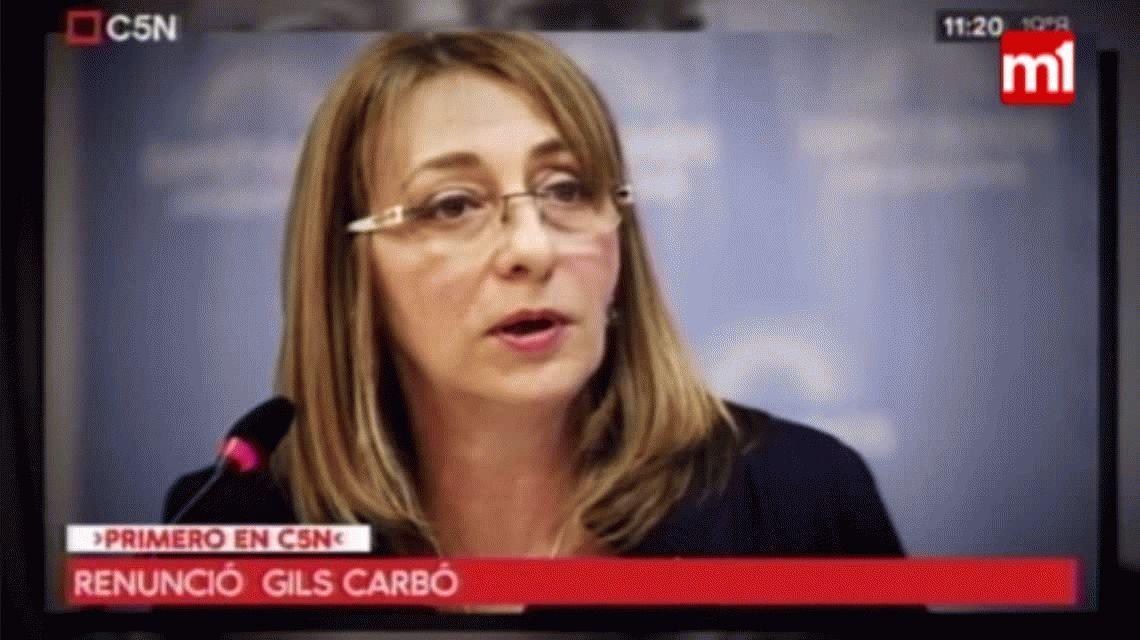 Renunció Gils Carbó, procuradora general de la Nación