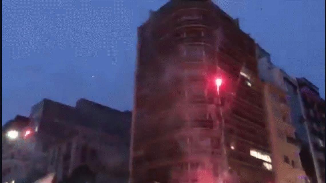 No maten a Quilmes: el desesperado pedido de cientos de hinchas en la puerta de la AFA