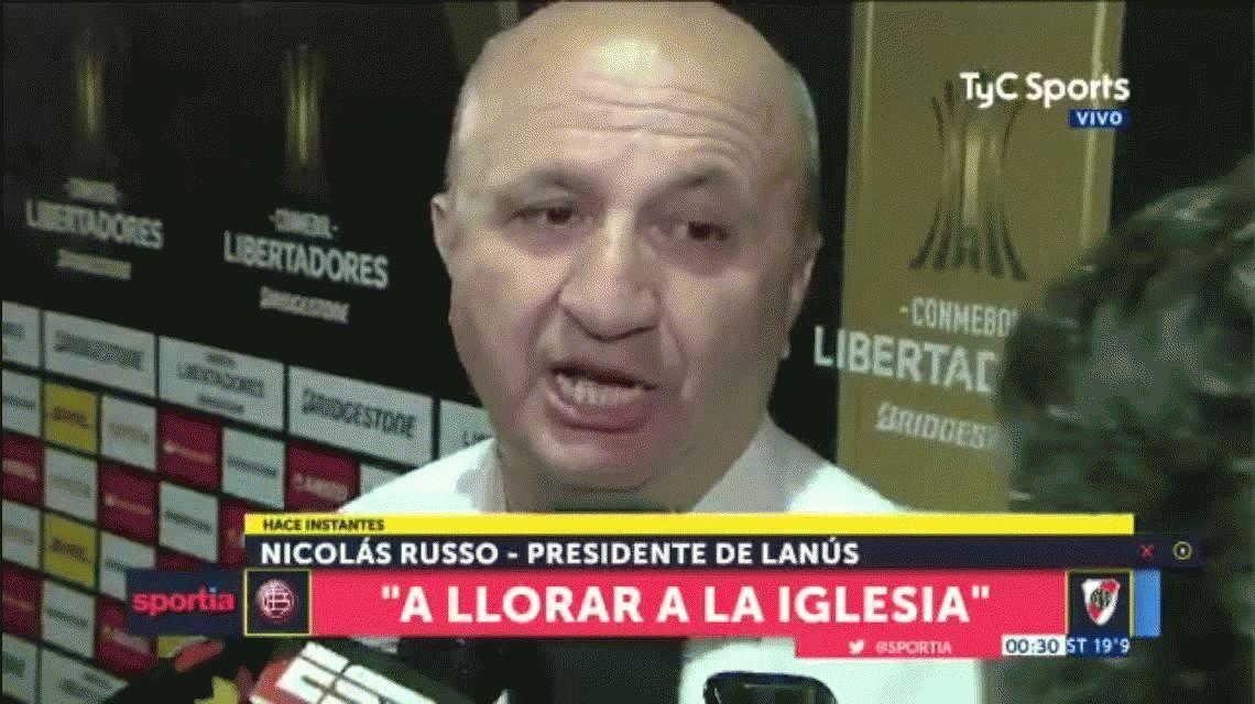 La brutal respuesta de Nicolas Russo ante las quejas de River por el arbitraje