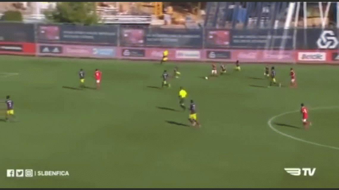 João Tomé hizo este gol de antología y ya lo quieren Barcelona y Real Madrid