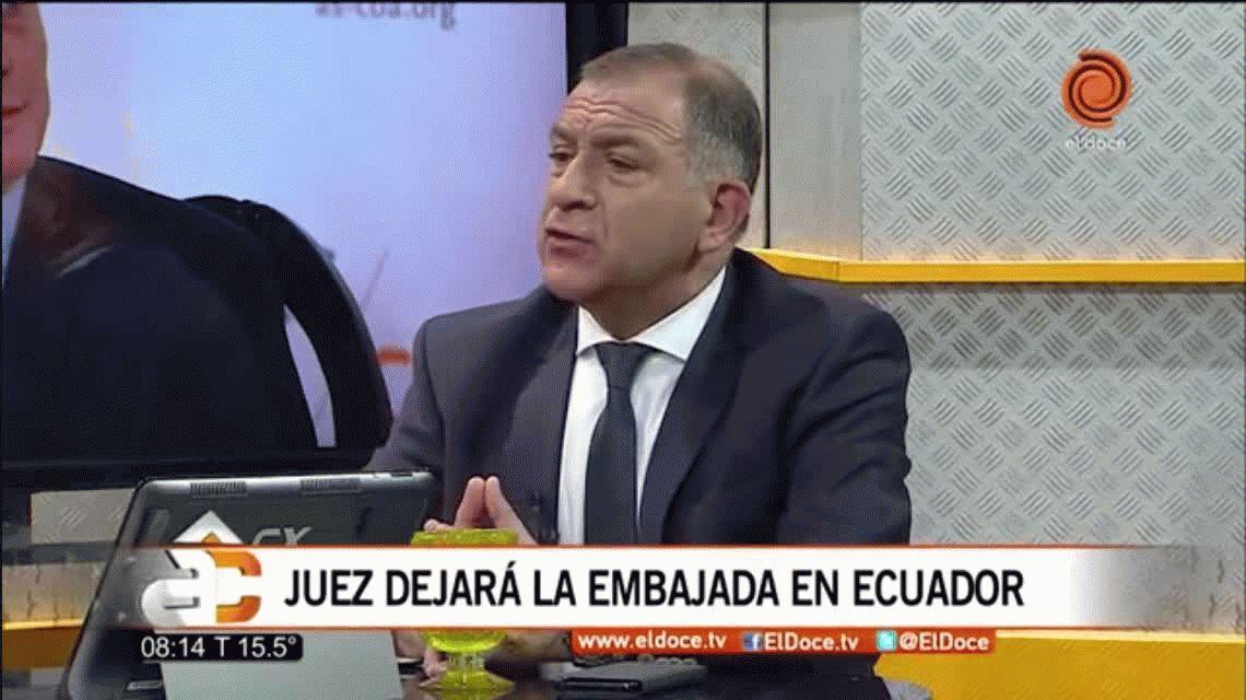 Luis Juez, entre lágrimas: Gano 12 mil dólares, vivo en un castillo y me quiero ir de ahí