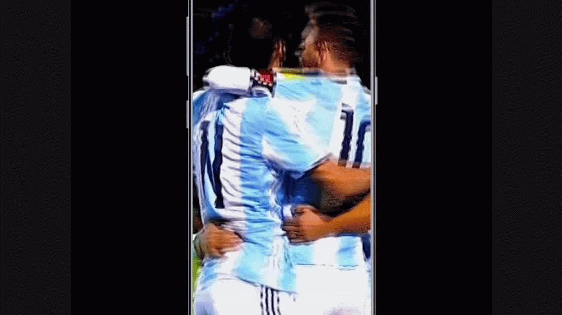 El WhatsApp de la Selección: El pedido por Pipita Higuaín