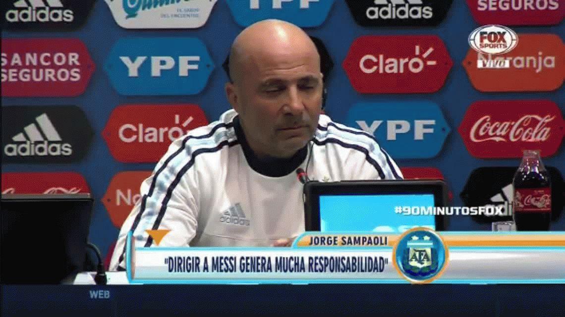 La confesión de Jorge Sampaoli: Tenía mucho miedo de no clasificar al Mundial