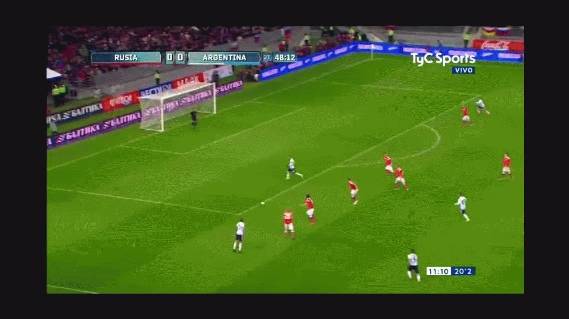 VIDEO: Agüero asistió, Messi brilló y no fue gol de casualidad