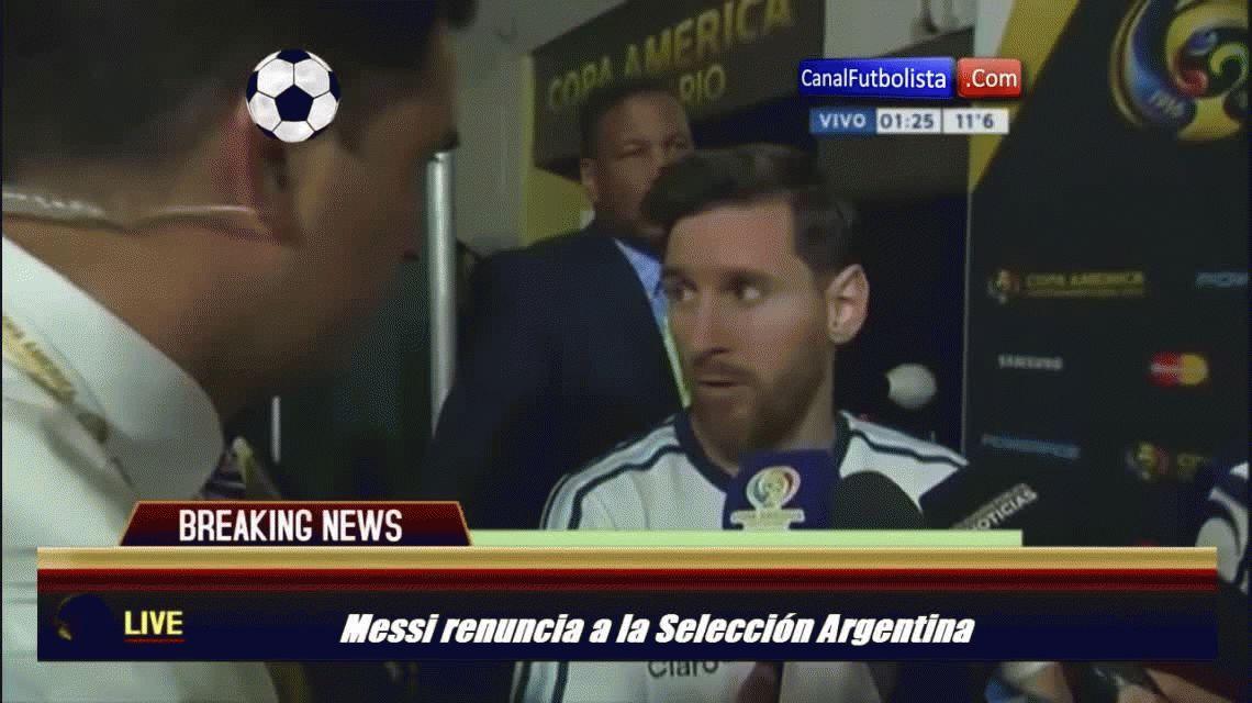 Messi explicó por qué renunció a la Selección y quién fue responsable de su regreso