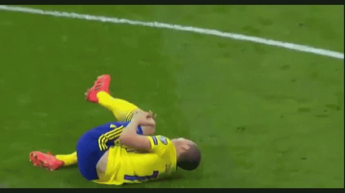 Insólito: el jugador que le dio la clasificación a Suecia no podrá jugar el Mundial