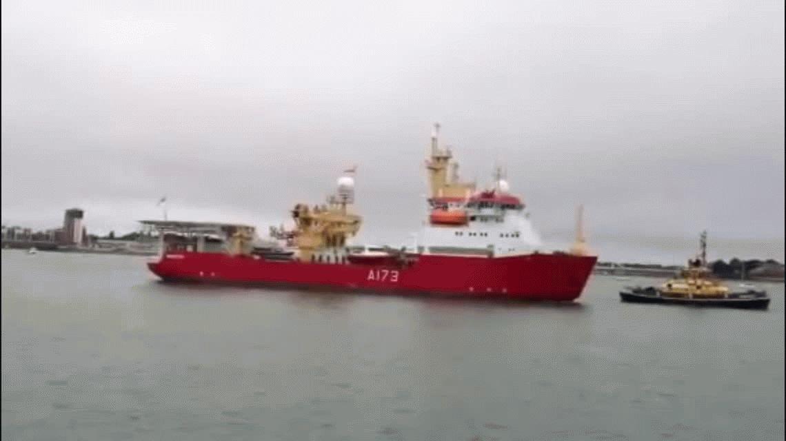 Este es el barco inglés que ayudará a buscar el submarino ARA San Juan